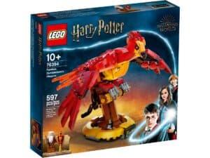 lego 76394 fawkes dumbledores phoenix