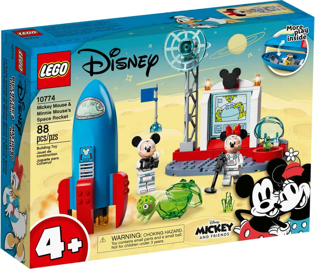 lego 10774 mickey mouse minnie mouses space rocket