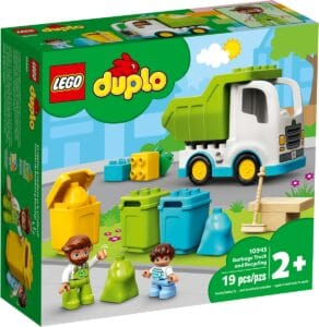 lego 10945 garbage truck and recycling