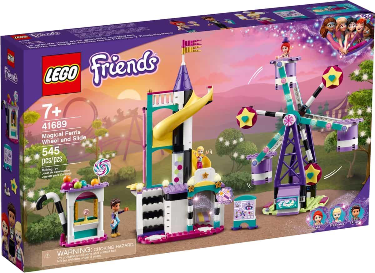 lego 41689 magical ferris wheel and slide