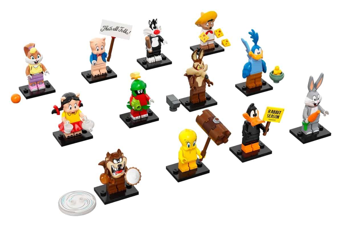 lego 66667 looney tunes 6 pack