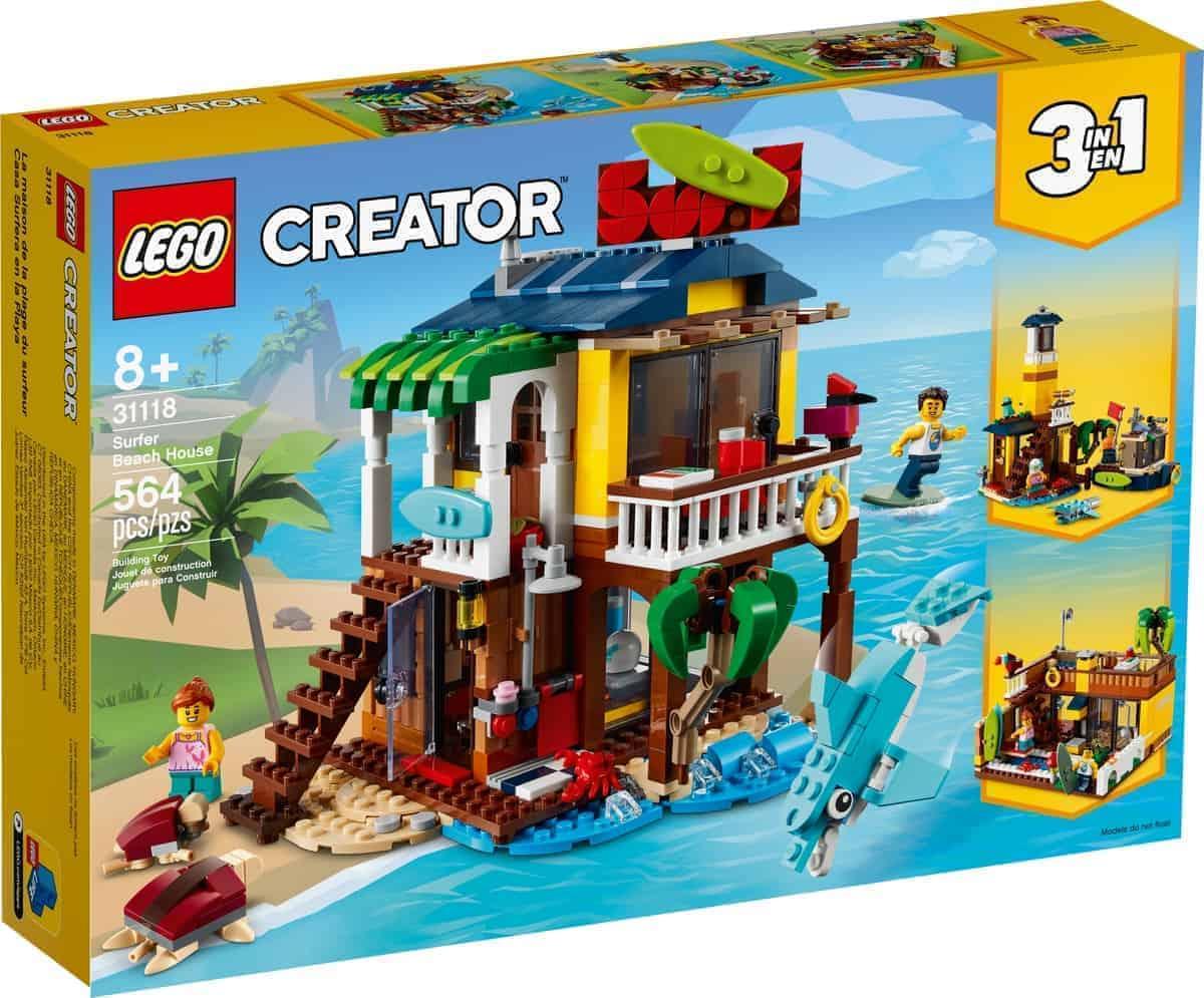 lego 31118 surfer beach house