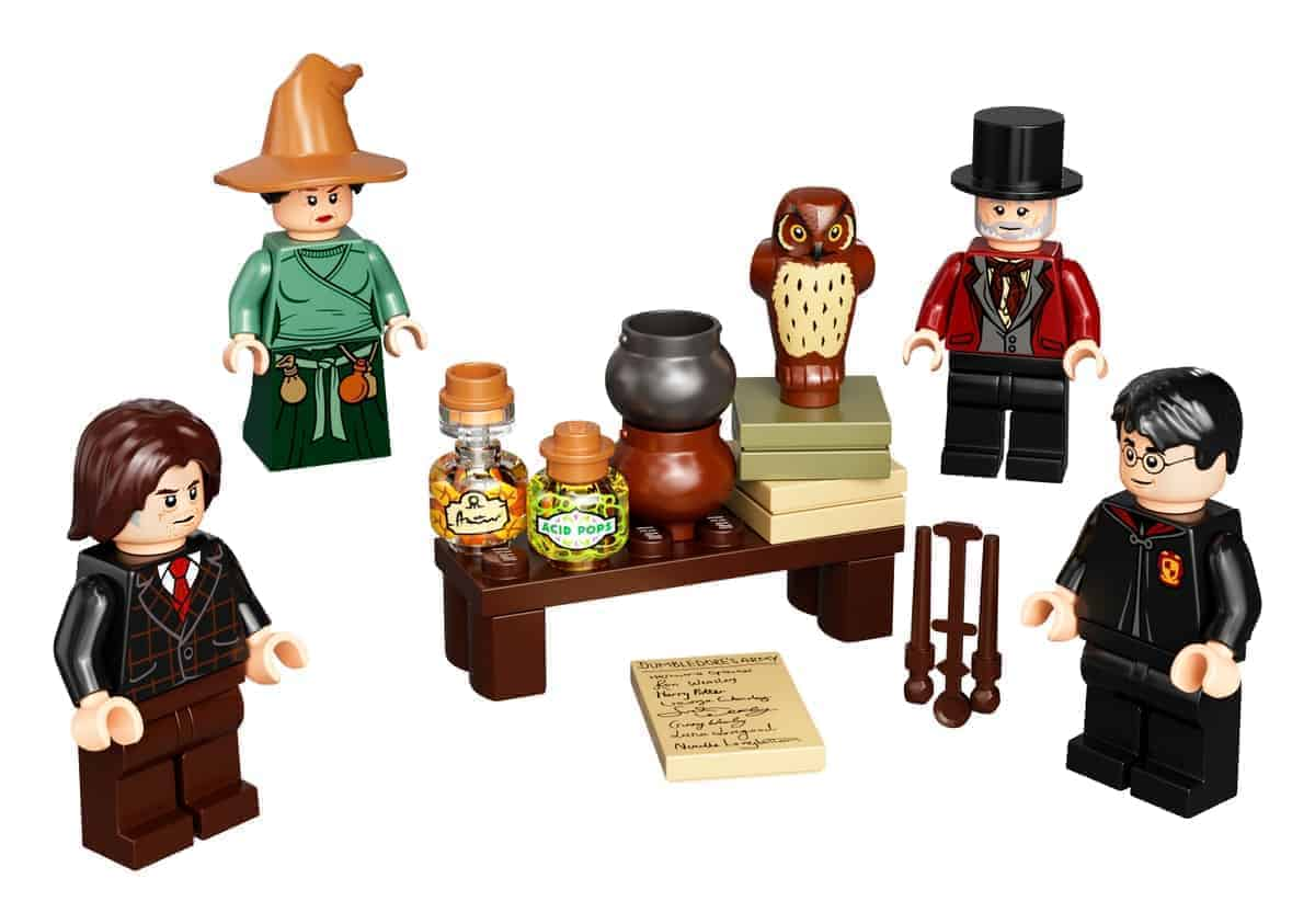lego 40500 wizarding world minifigure accessory set