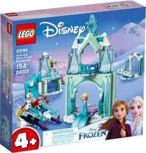 lego 43194 anna and elsas frozen wonderland