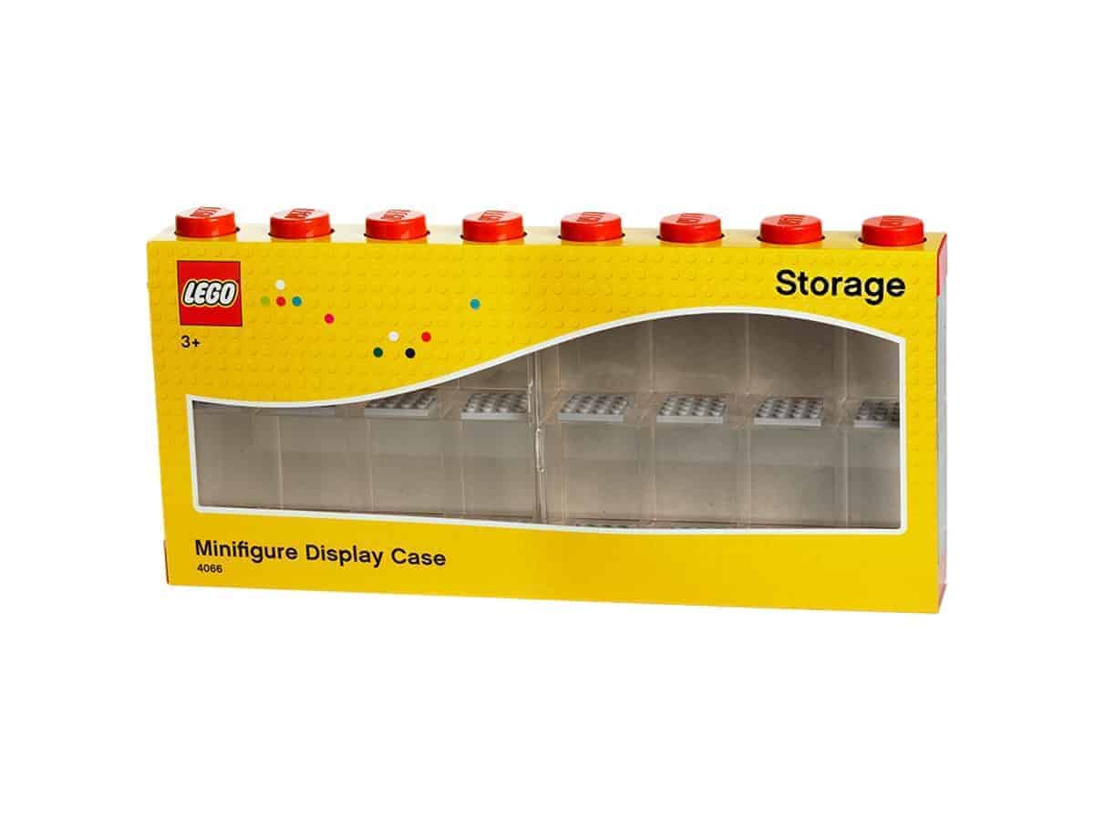 lego 5004892 minifigure display case 16 red
