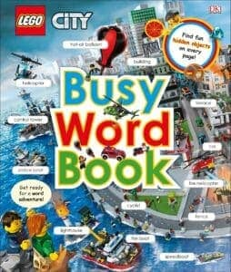 lego 5005731 city busy word book