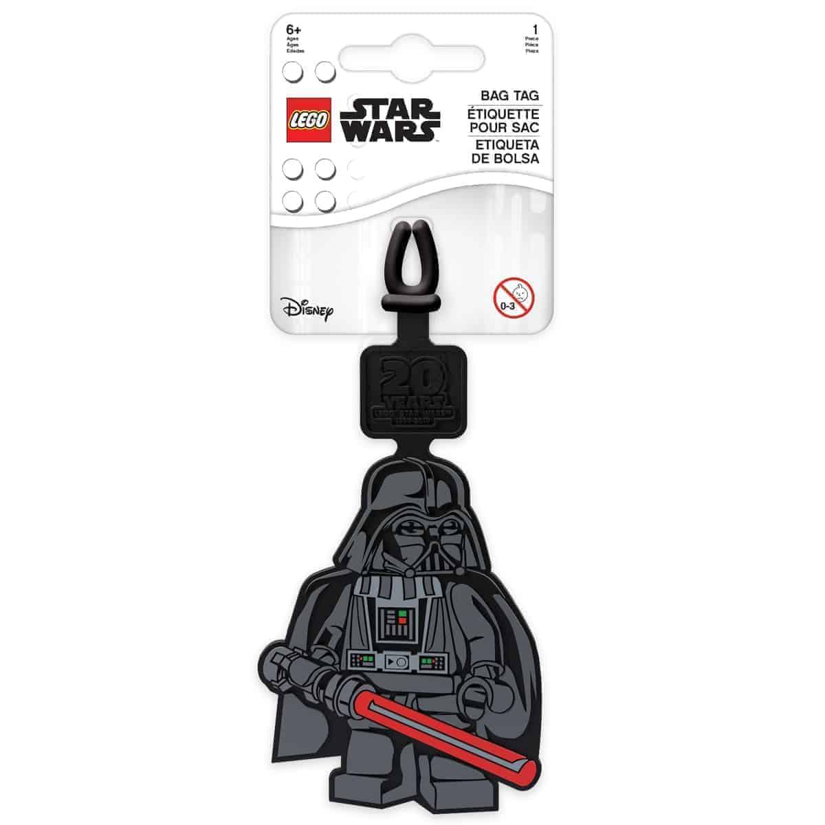 lego 5005819 darth vader bag tag