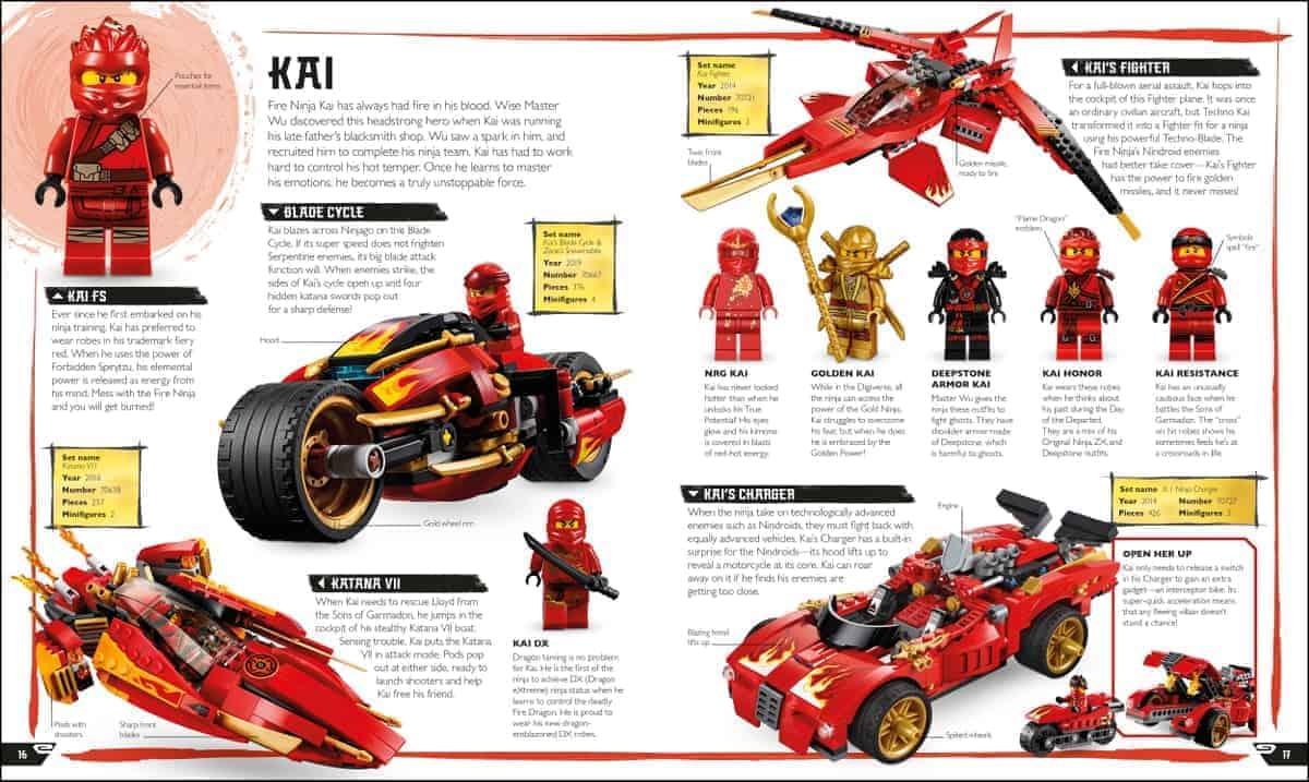 lego 5006266 ninjago visual dictionary new edition