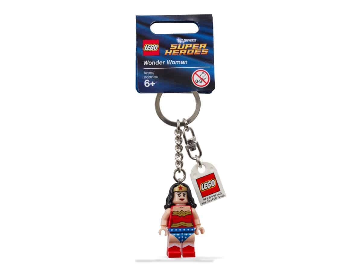 lego 853433 dc comics super heroes wonder woman key chain