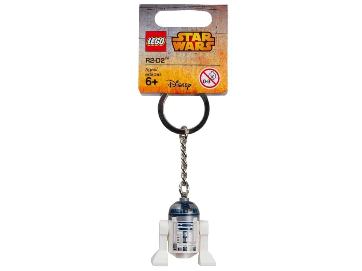lego 853470 star wars r2 d2 key chain