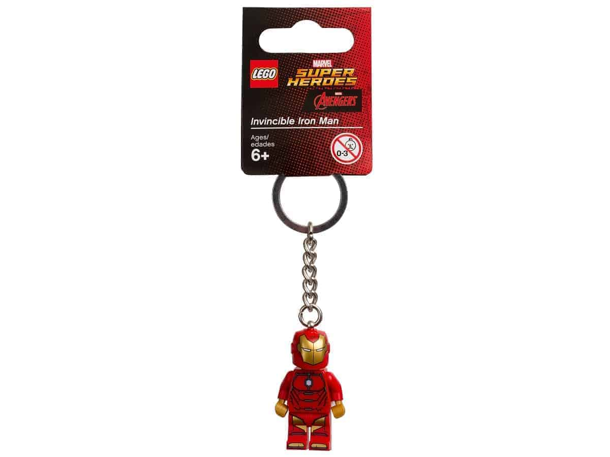 lego 853706 marvel super heroes invincible iron man key chain