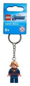 lego 854064 captain marvel key chain