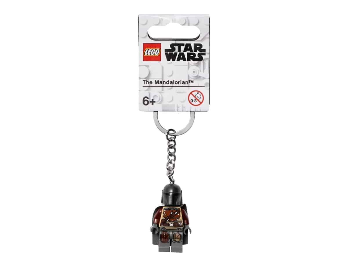lego 854124 the mandalorian key chain