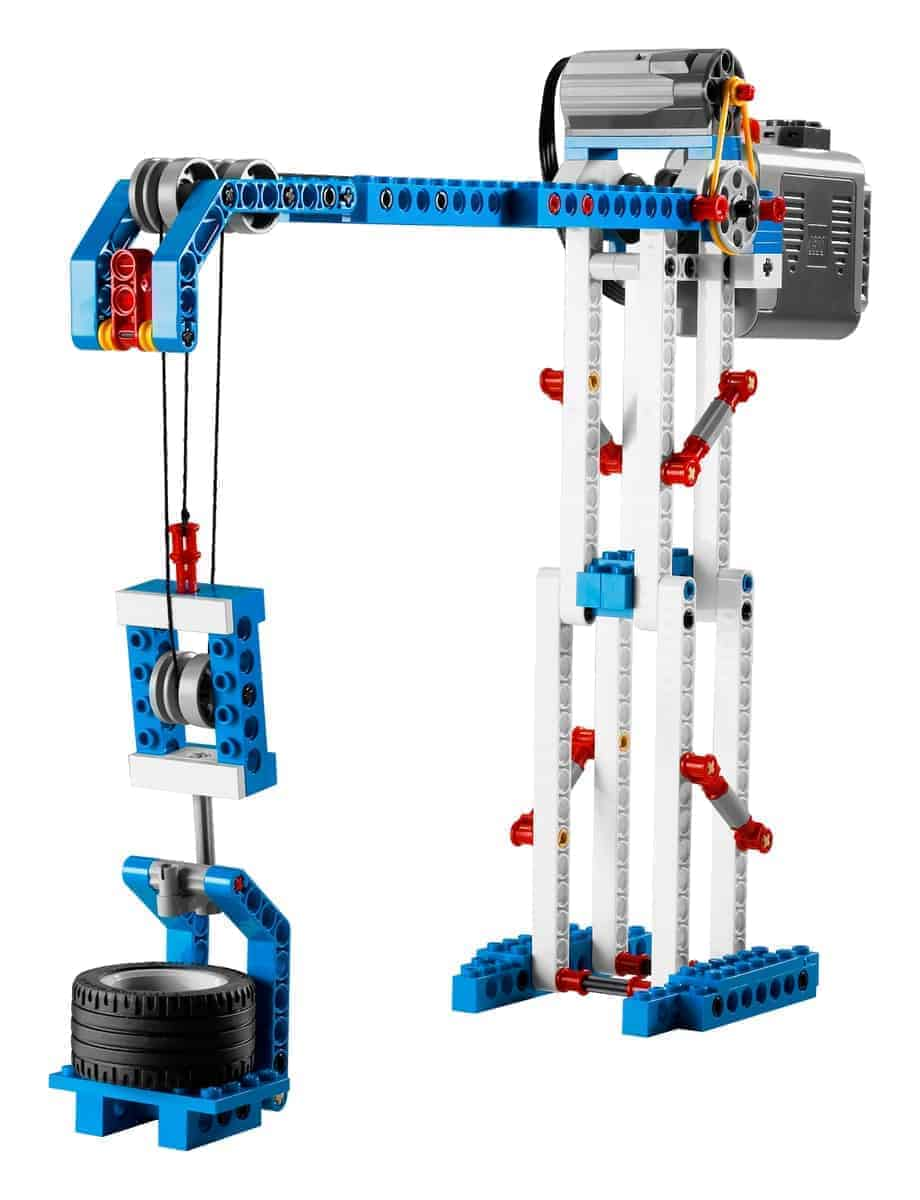 lego 9686 simple powered machines set