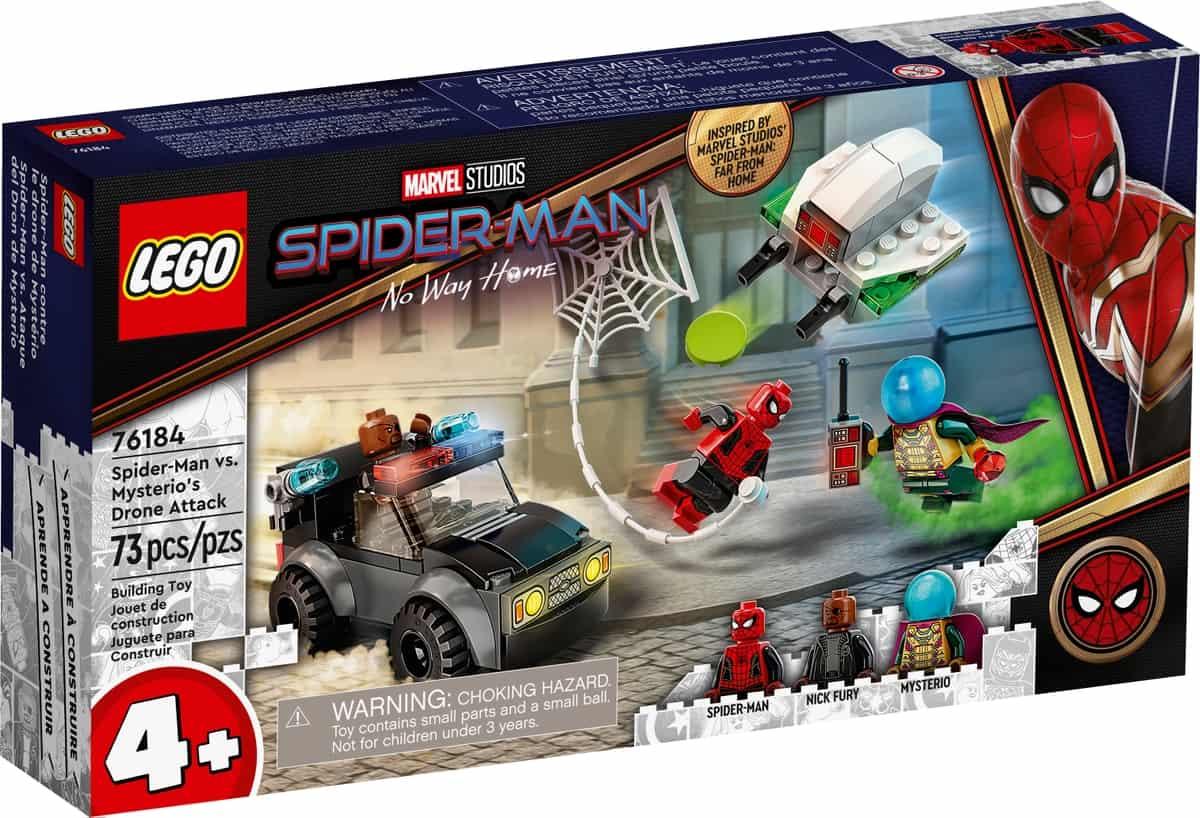 lego 76184 spider man vs mysterios drone attack