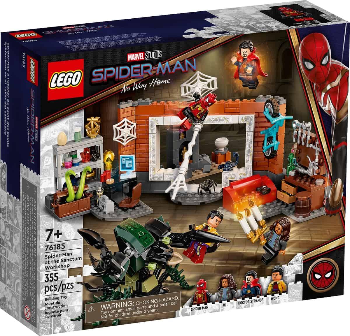 lego 76185 spider man at the sanctum workshop