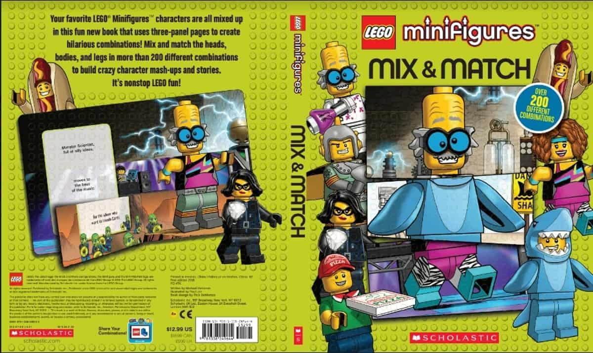 lego 5005606 minifigures mix match