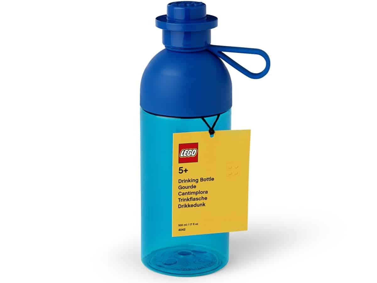 lego 5006605 hydration bottle blue
