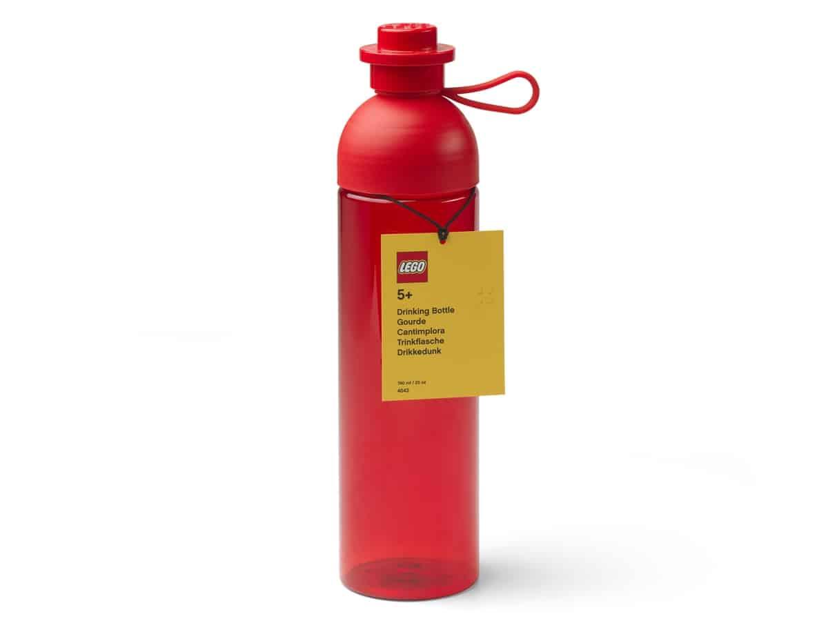 lego 5006606 hydration bottle red large