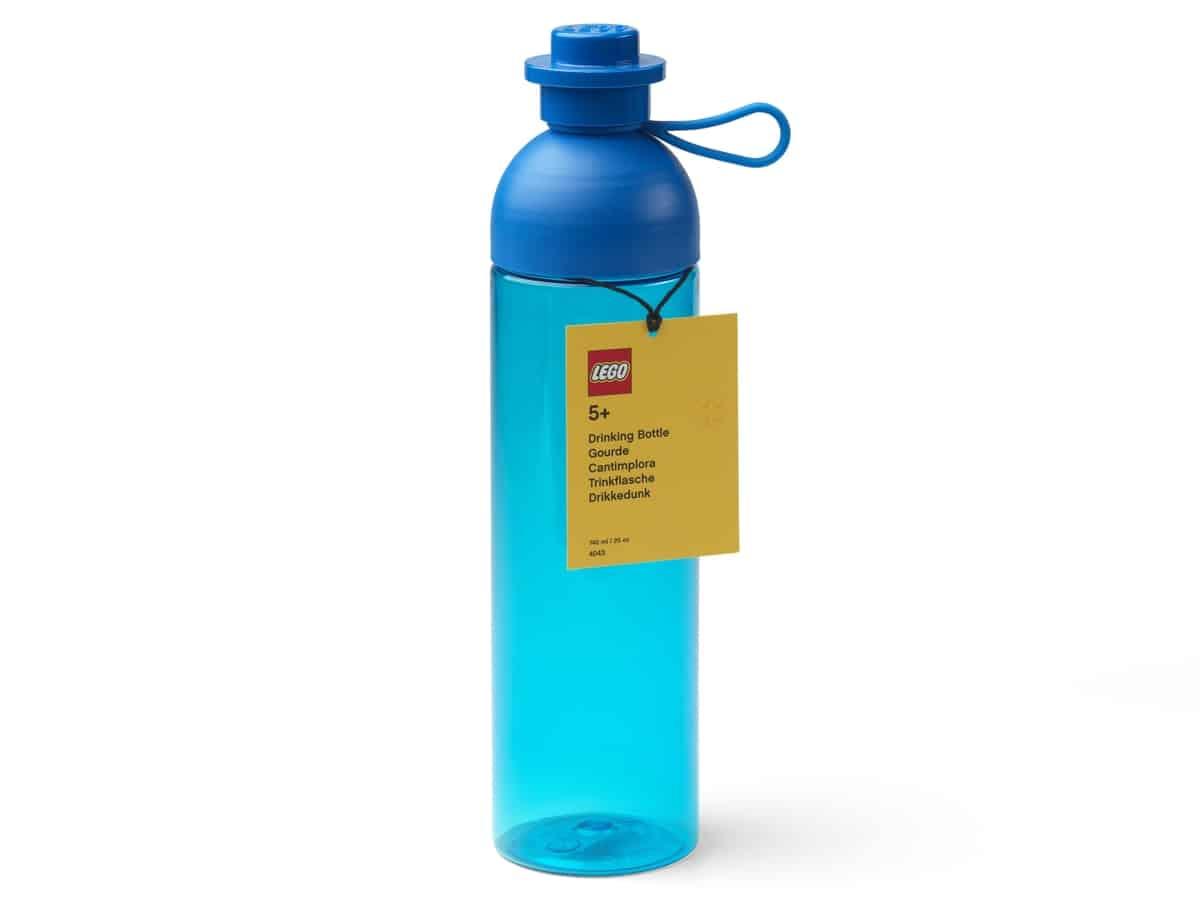 lego 5006607 hydration bottle blue large
