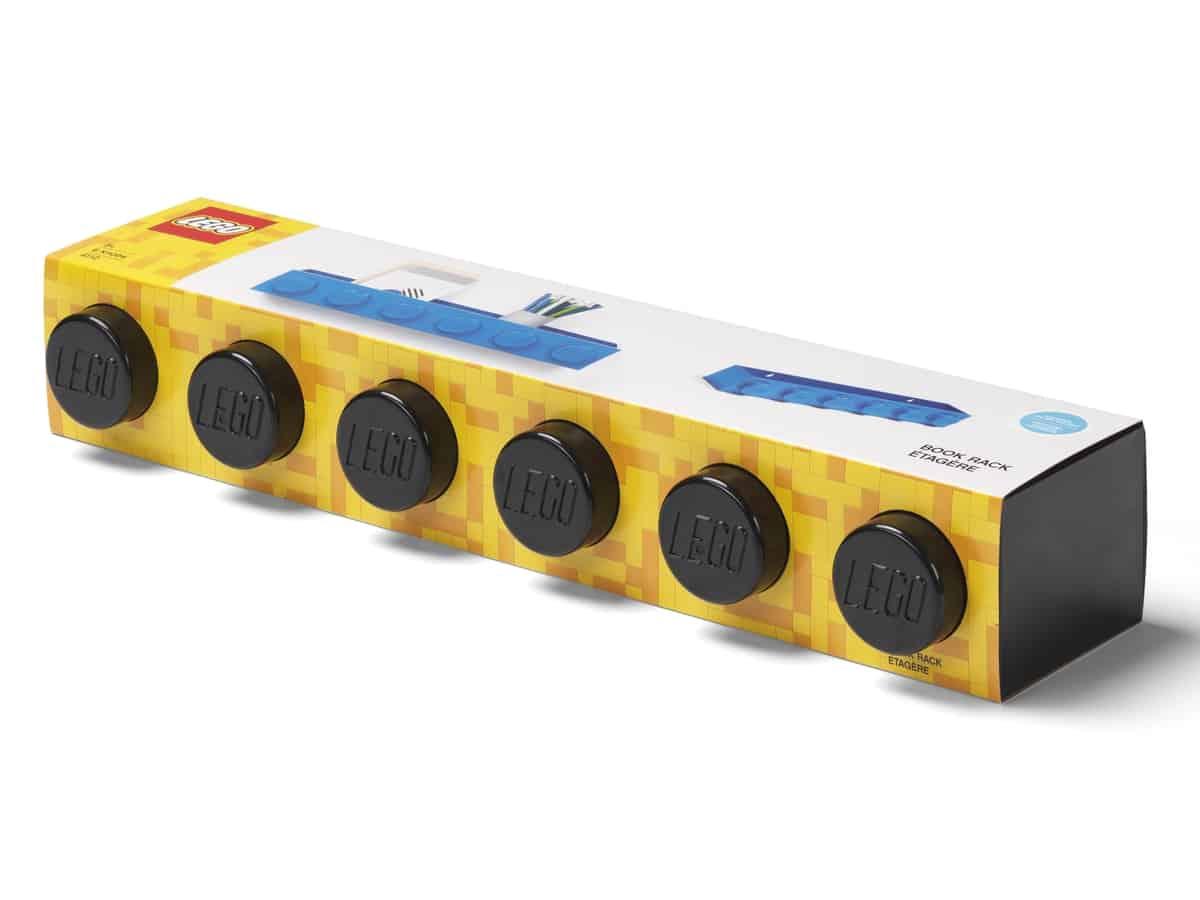 lego 5006614 brick bookrack black