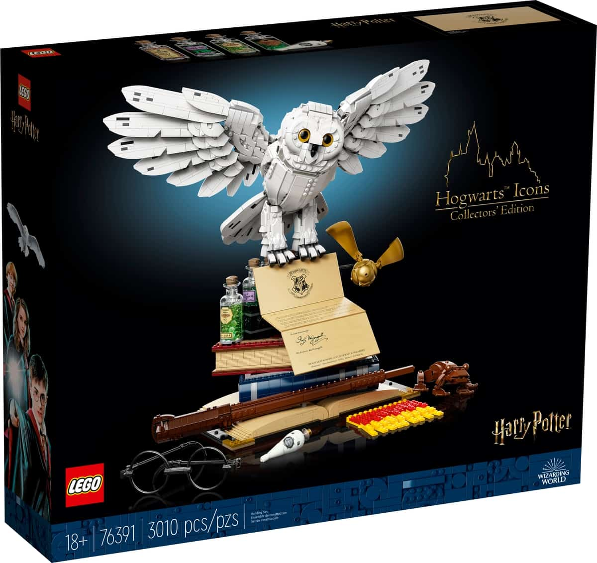 lego 76391 hogwarts icons collectors edition