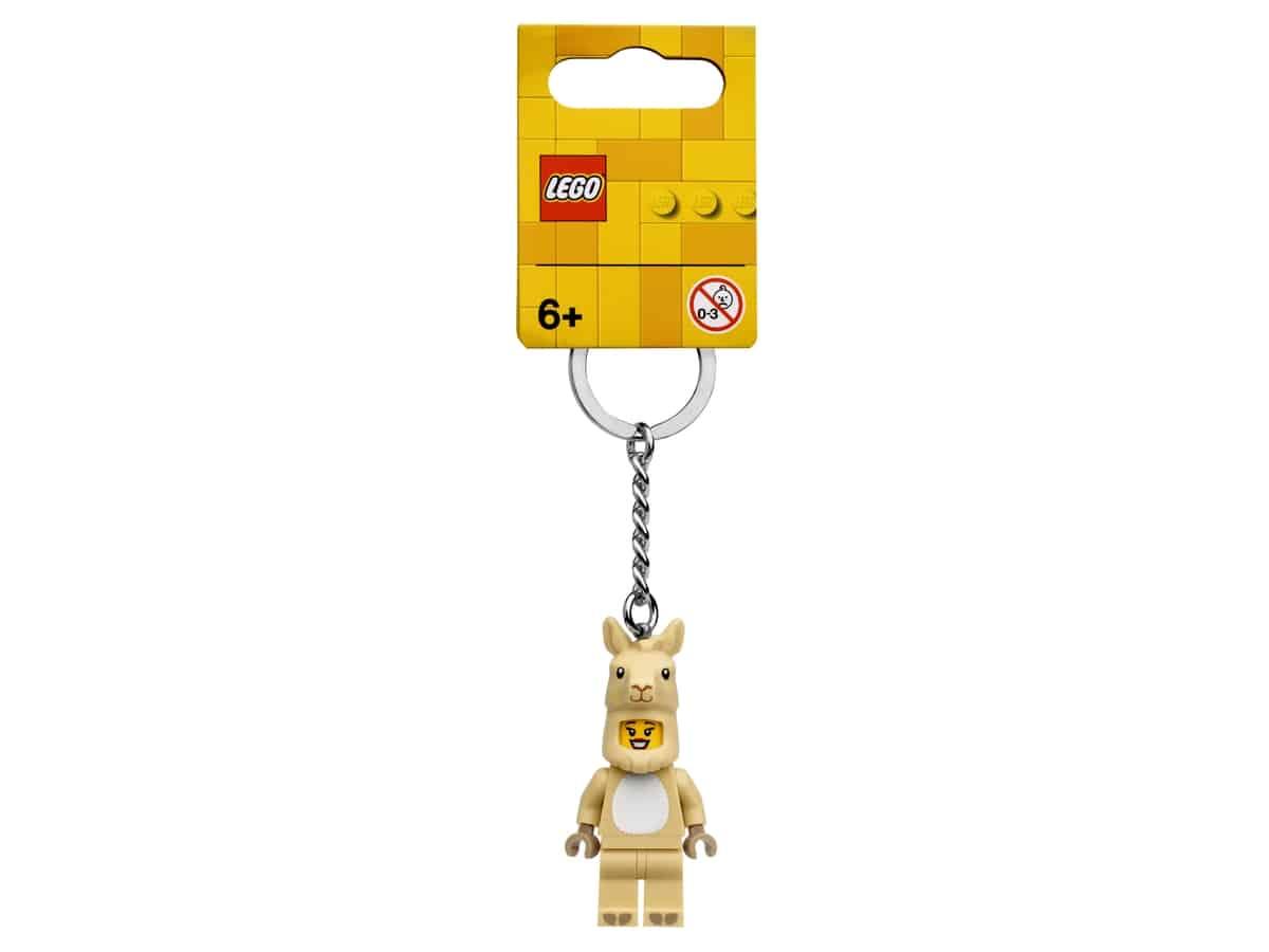 lego 854081 llama girl key chain