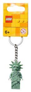 lego 854082 lady liberty key chain
