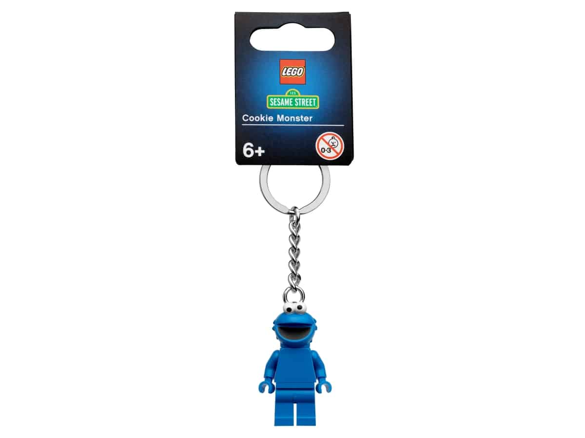 lego 854146 cookie monster key chain