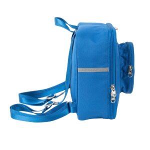 lego 5006355 brick backpack 1 stud blue