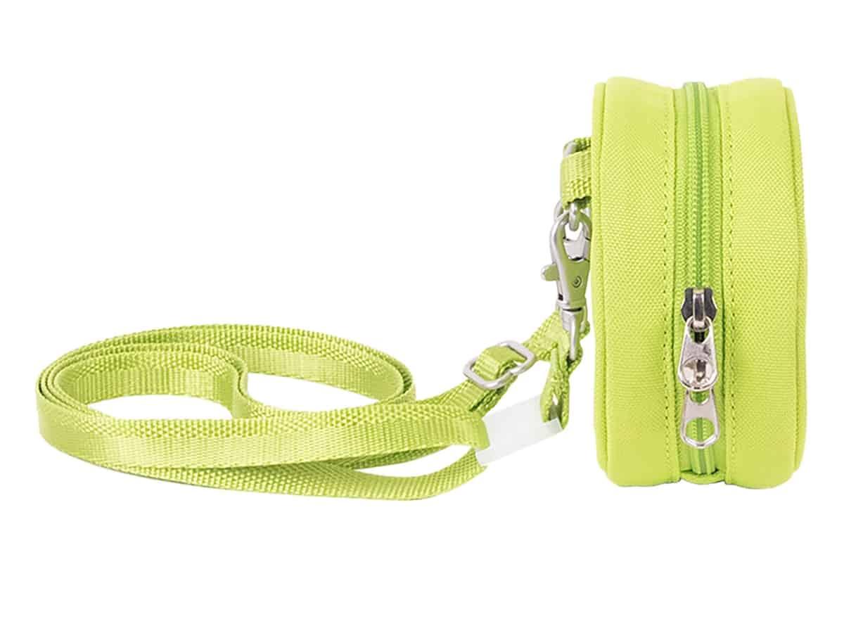 lego 5006494 lime green micro knob bag