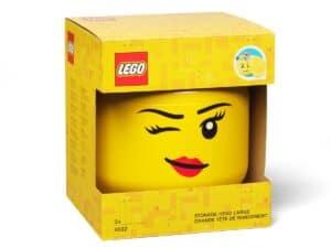 lego 5006956 storage head large winking